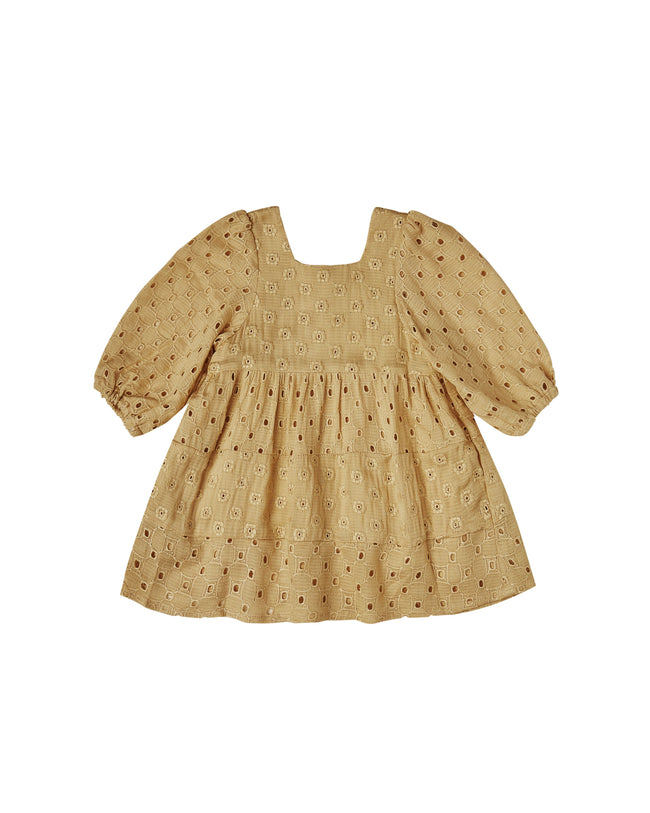 Gretta Eyelet Baby Doll Dress