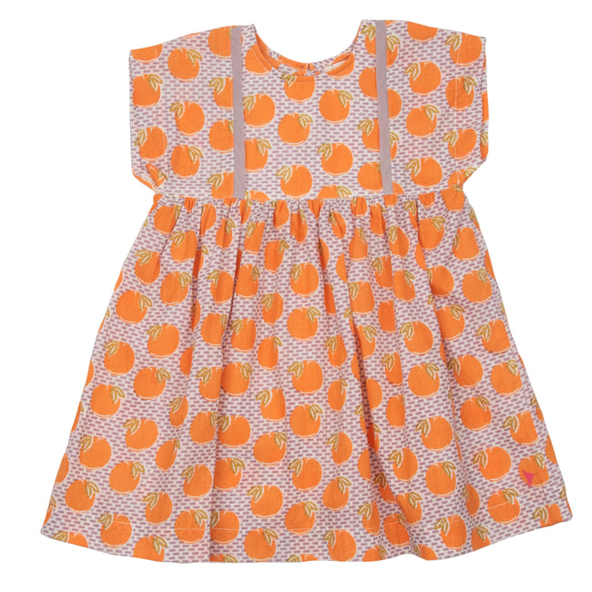 Stacey Dress - Nirvana Oranges