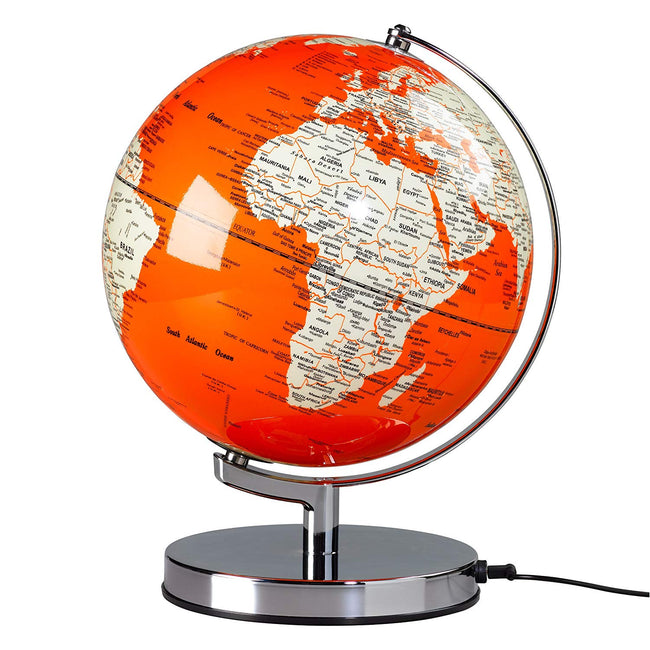 "Globe Light - 10"" Goldfish Orange"
