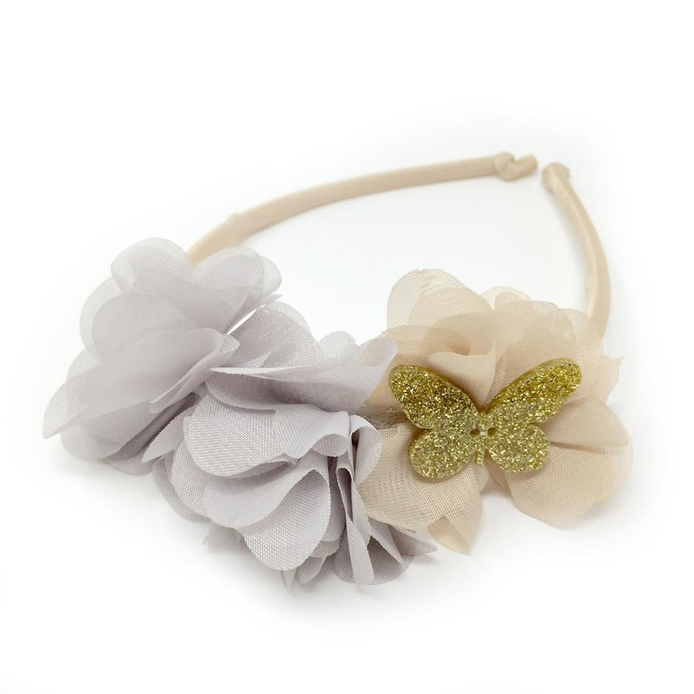 Le Bouquet Headband - Beige