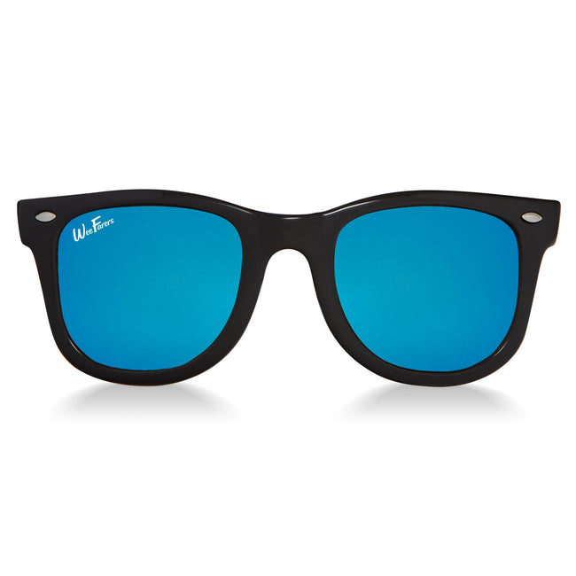 Polarized WeeFarers - Black/Ocean Blue