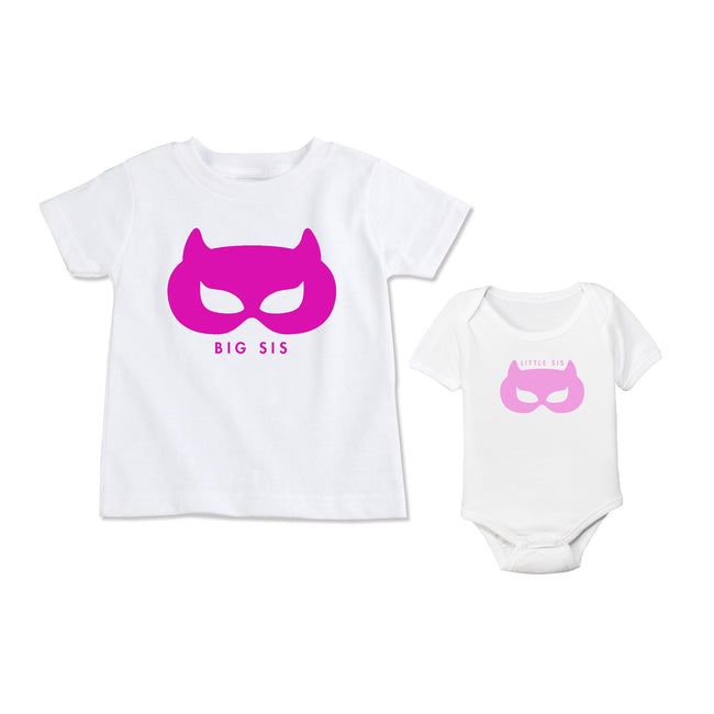 Superhero Big Sister Tee