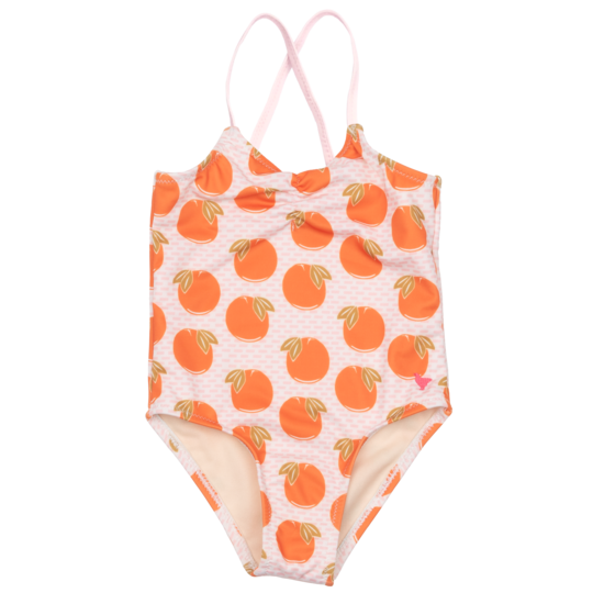 Baby Belle Swimsuit - Cloud Pink Oranges
