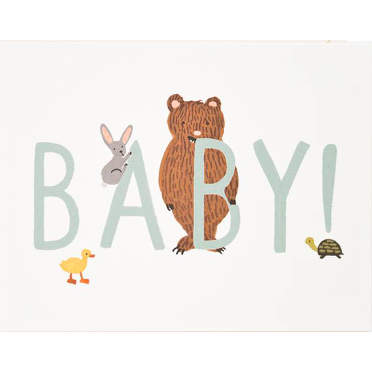 Baby Card - Mint