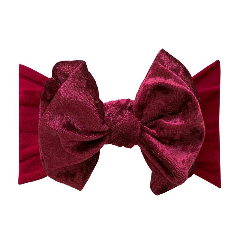 Velvet FAB Headband - Crushed Ruby