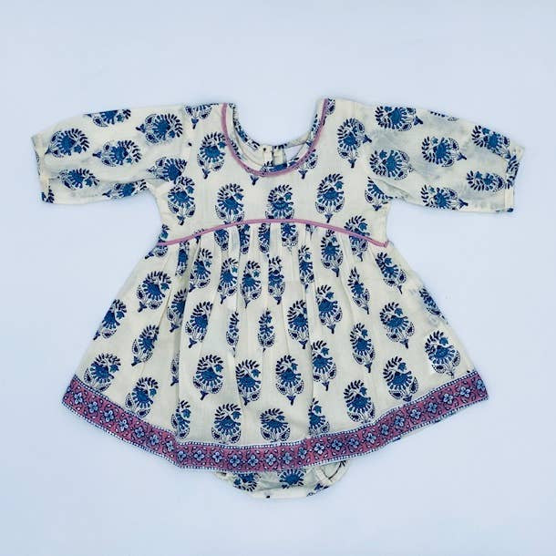 Ava Baby Dress & Bloomer
