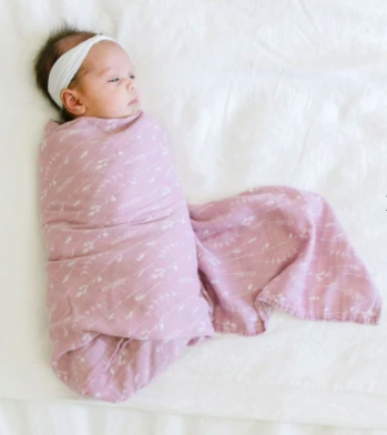 Wildflower Bamboo Rayon Muslin Swaddle