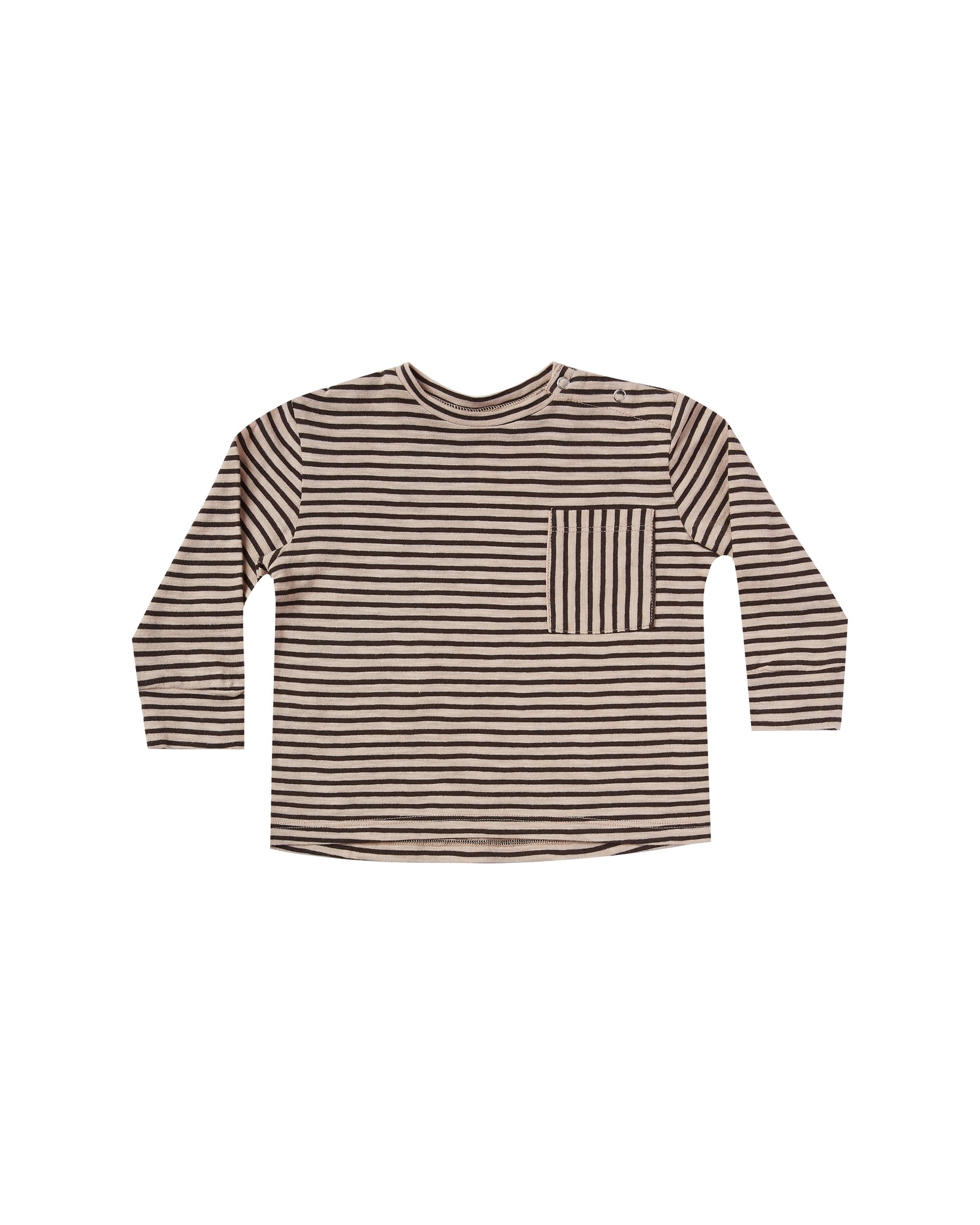 Striped Long Sleeve Skater Tee