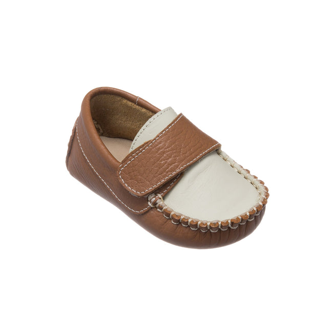 Oliver Baby Shoes - Caramel