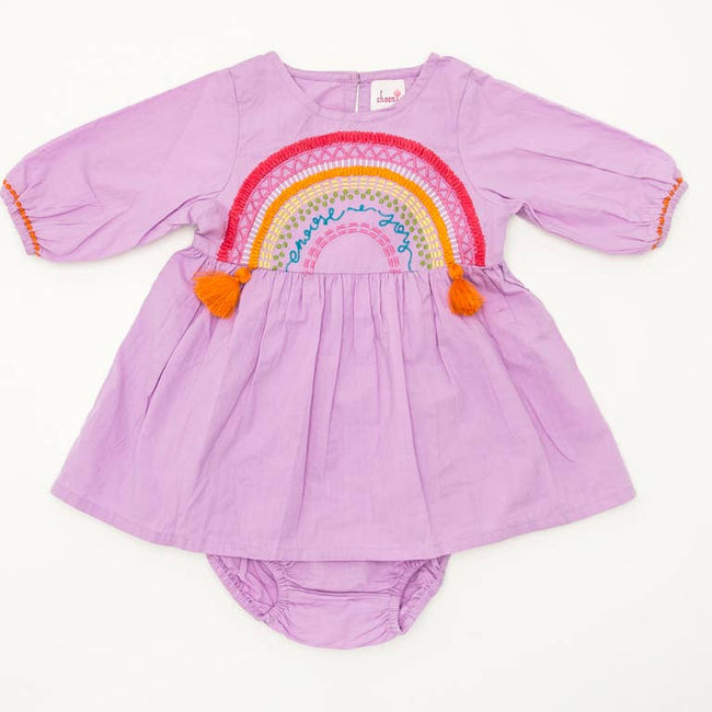 Choose Joy Baby Dress & Bloomer