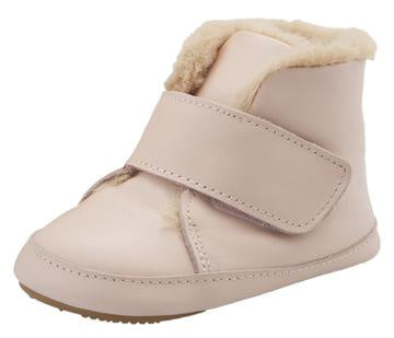 Softly Booties - Powder Pink