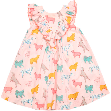Marley Dress - Crystal Rose Dog