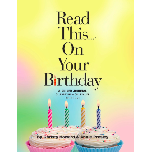 Read This On Your Birthday Book