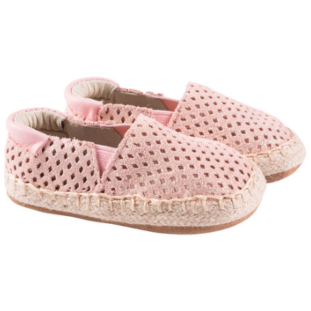 Ellie Soft Sole Shoes - Pink Espadrille