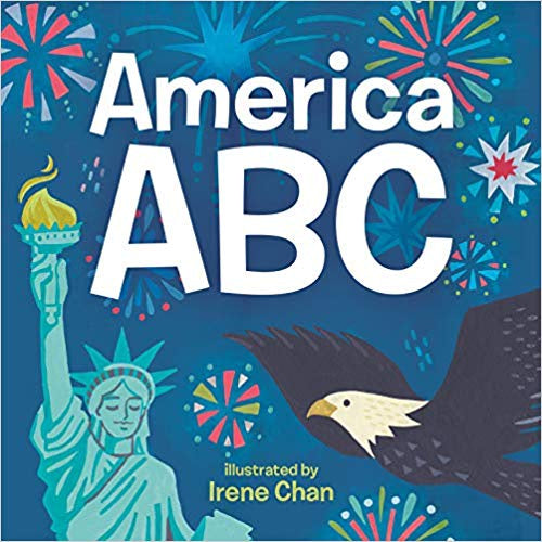 America ABC Board Book