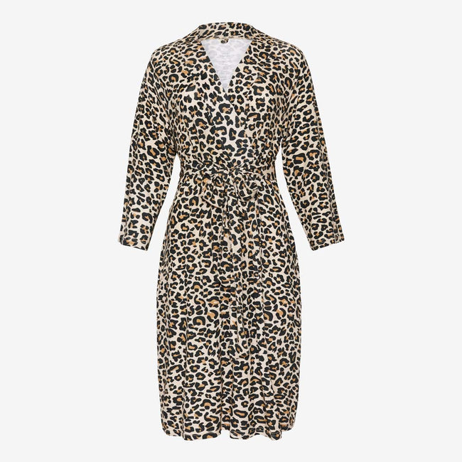 Mommy Robe - Lana Leopard