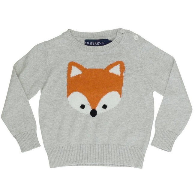 Lil' Fox Cashmere Sweater