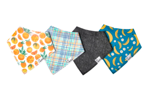 Bandana Bib Set - Citrus