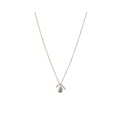 Droplet Necklace - Silver