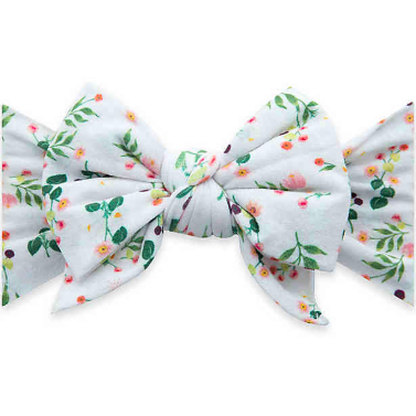 Dang Enormouse Bow Headband - Baby's Breath