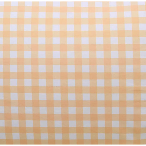 Gingham Cotton Crib Sheet