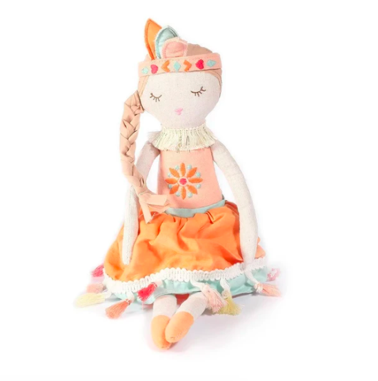 Claire Bohemian Princess Heirloom Doll - Small