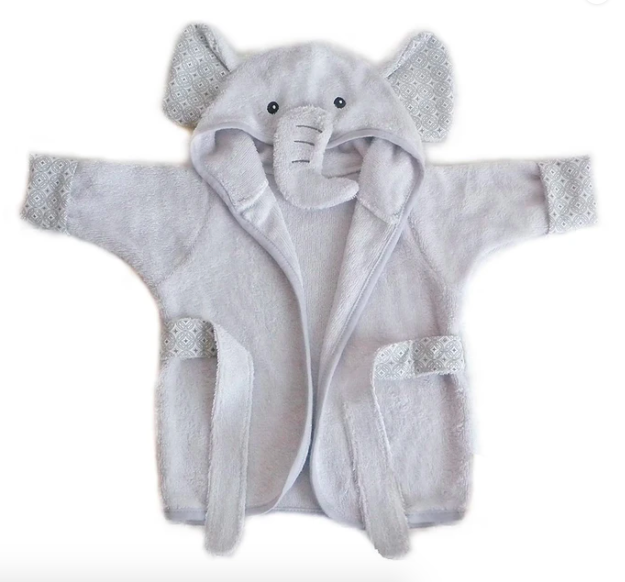 Elephant Bamboo Terry Bath Robe