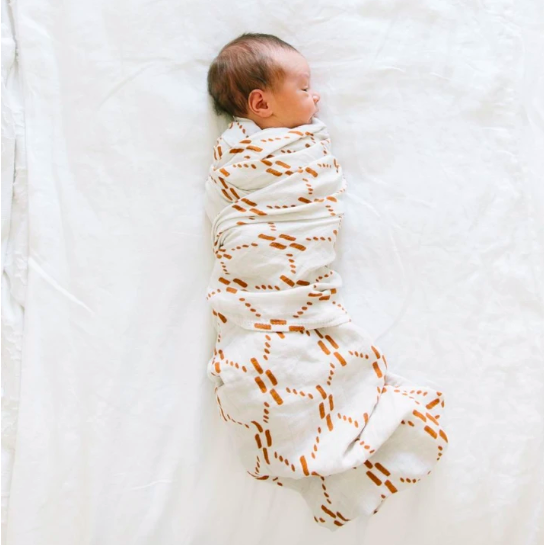 Juliet Copper Bamboo Swaddle Blanket