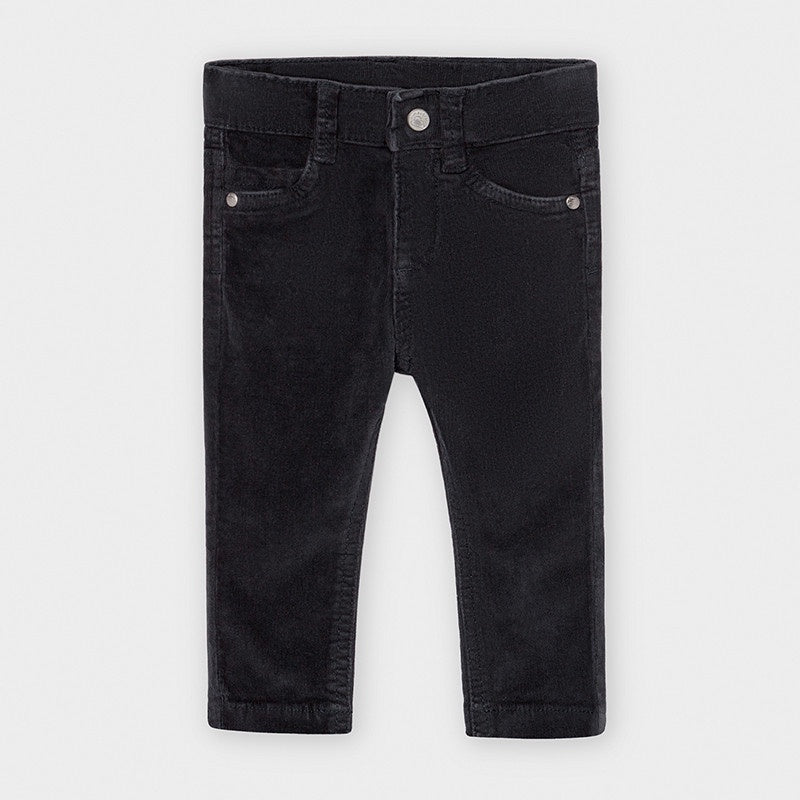 Slim Fit Corduroy Pant - Deep Blue