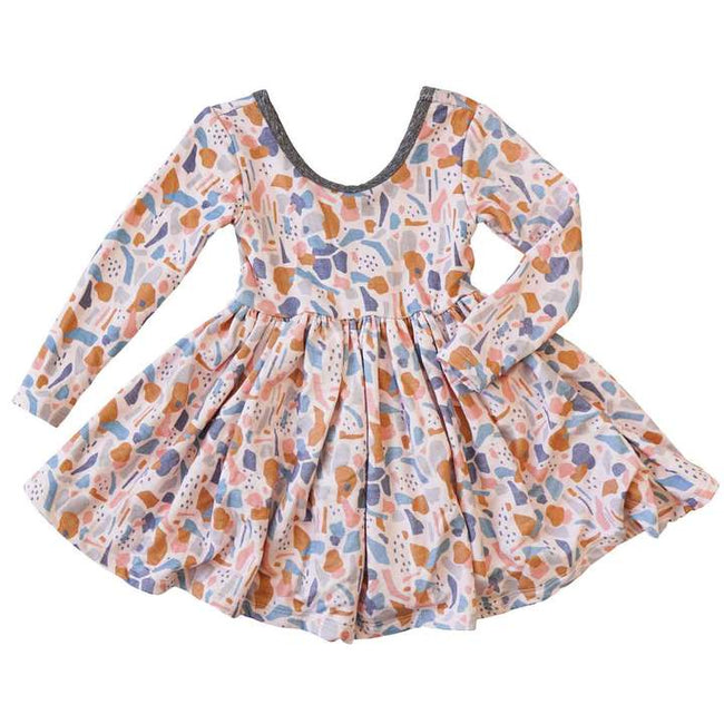 Twirl Dress - Terazzo