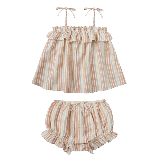 Multi Stripe Flutter Set