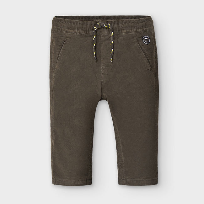 Micro-Corduroy Pants - Chocolate