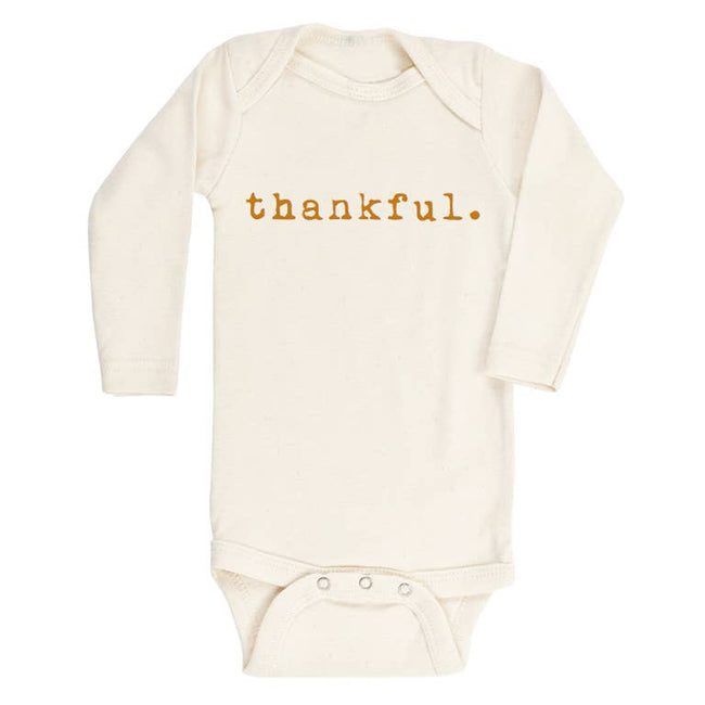 Long Sleeve Onesie - Thankful