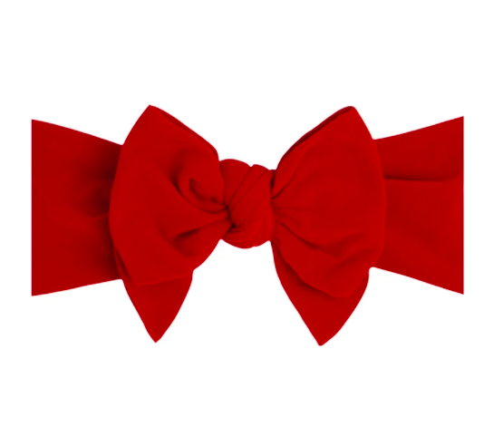 Dang Enormous Bow Headband - Red