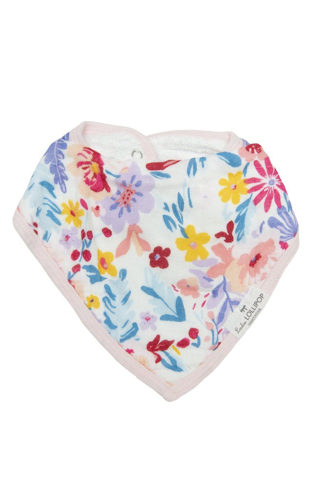 Field Flowers Bandana Bib