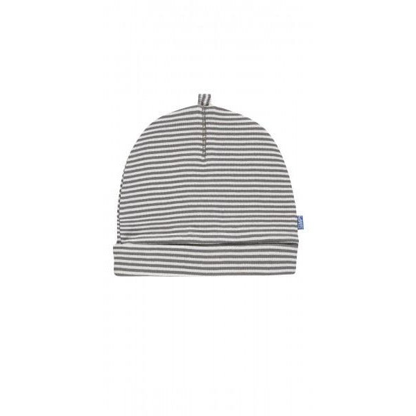 Striped Hat - Stone Grey