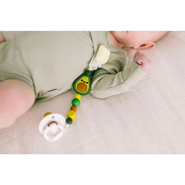 Darling Pacifier Clip - Avocado
