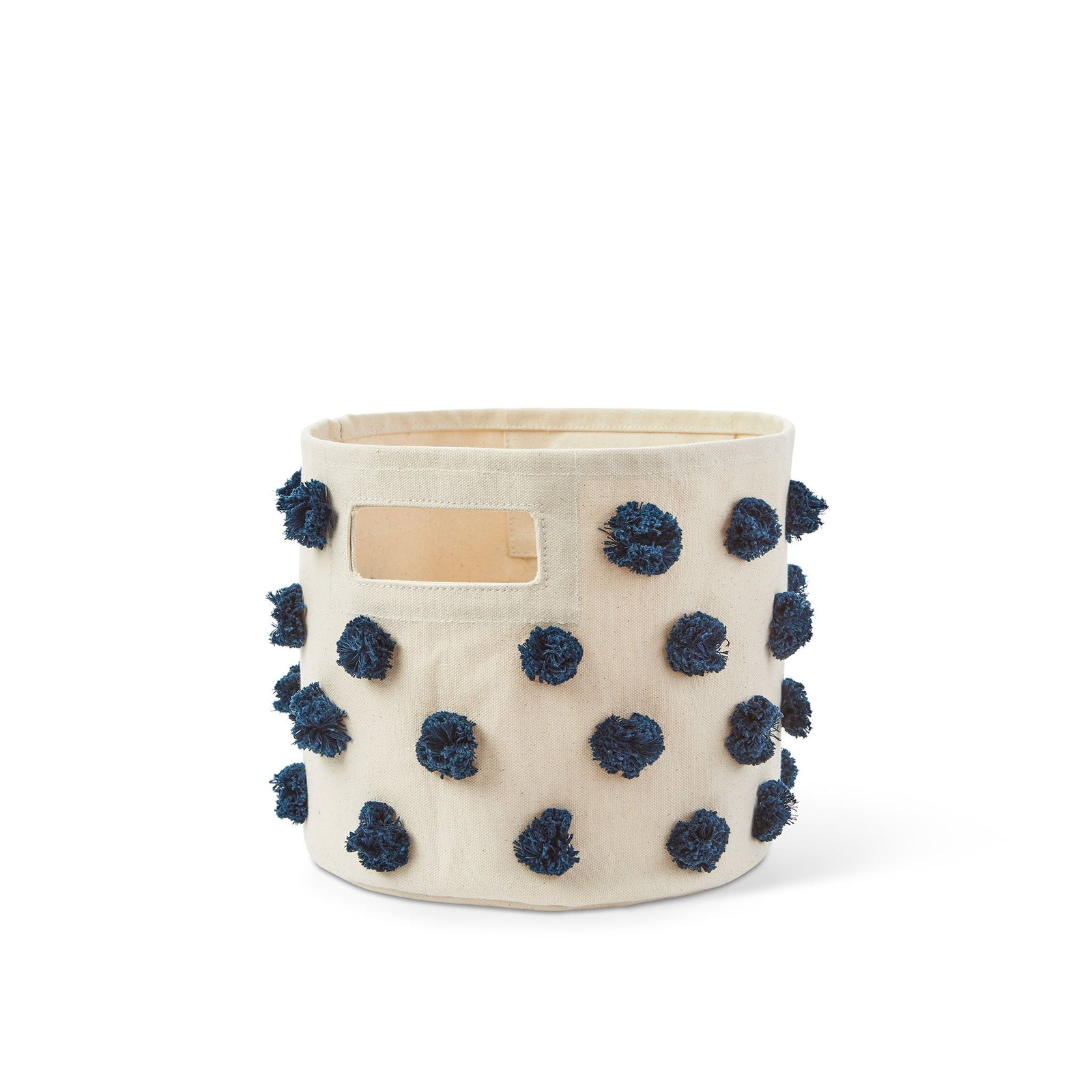 Navy Pom Pom Storage Pint