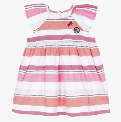 Candy Fantasy Striped Dress
