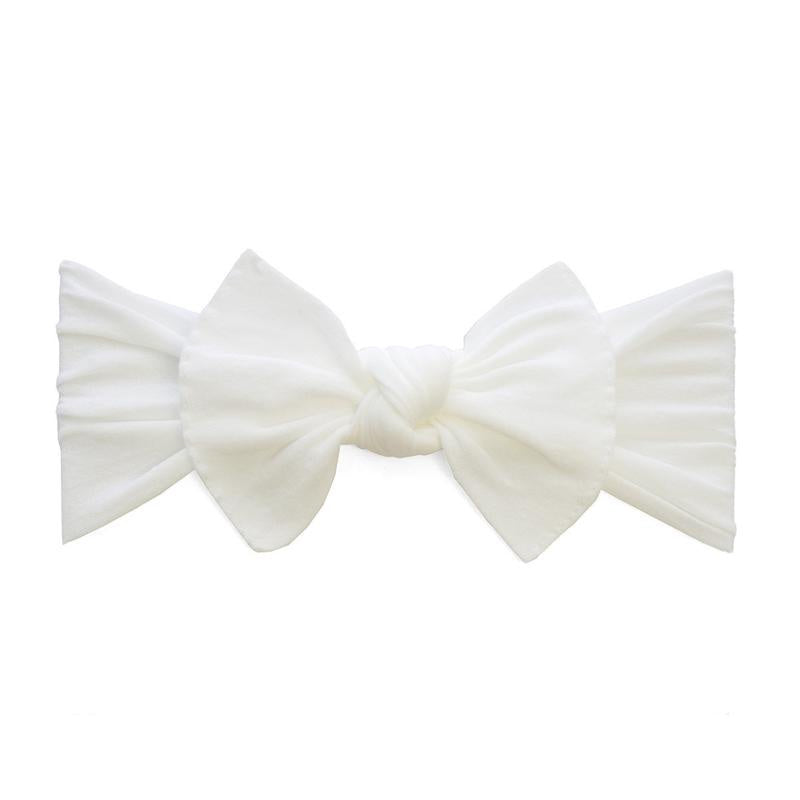 Knot Headband - White