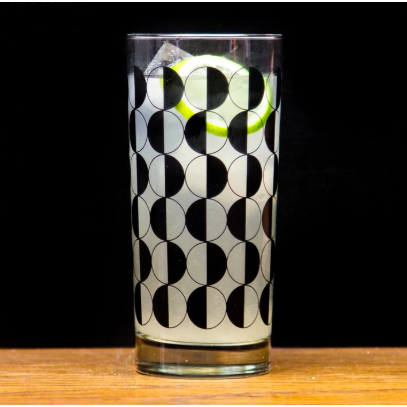 Partial Eclipse of the Collins Highball Glass
