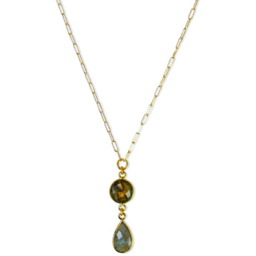 Darlin' Necklace - Labradorite