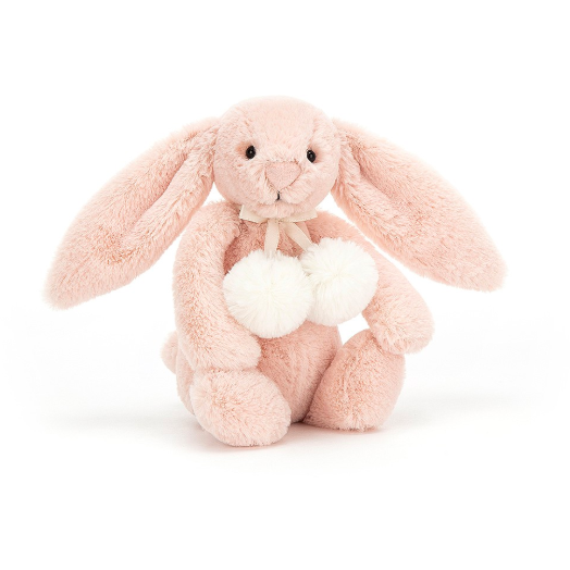 Bashful Blush Snow Bunny - Small