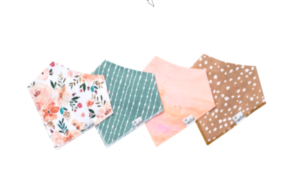 Bandana Bib Set - Autumn