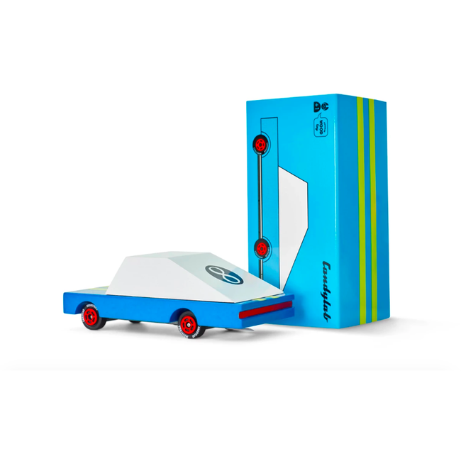 Blue Racer Toy Car