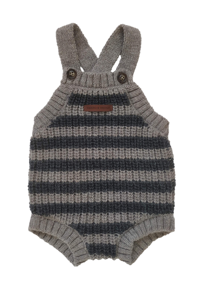 Striped Knitted Bubble