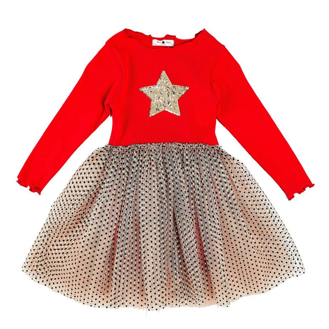 Melo2 Sha Tutu Dress - Red
