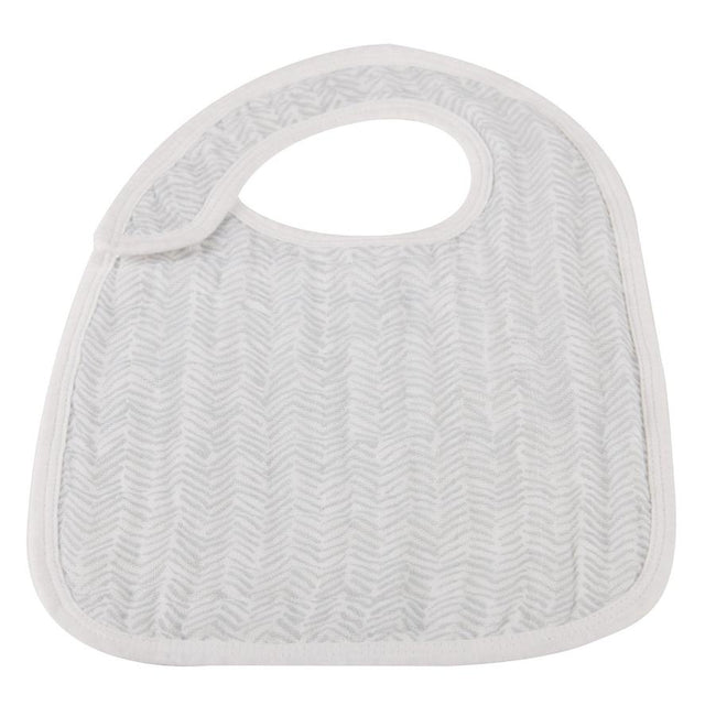 In the Wild Chevron Snap Bib