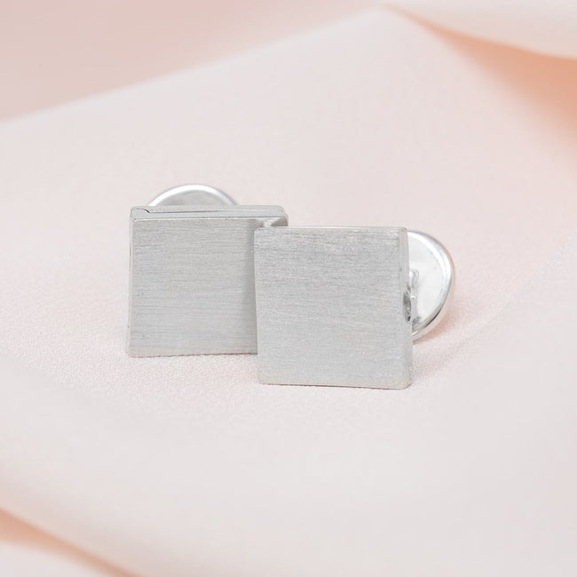 Julian Locket Cufflinks - Sterling Silver
