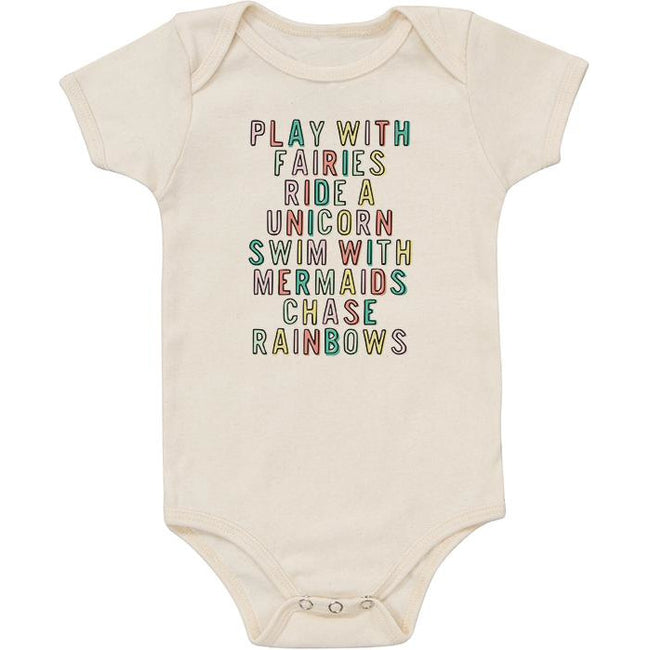 Organic Bodysuit - Play with Fairies